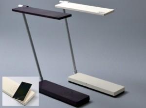 Konica Minolta выпустила настольную лампу с функцией беспроводной зарядки смартфонов
