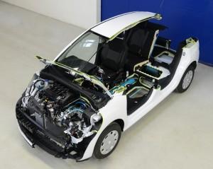 В Пежо разработали гибридный автомобиль, работающий на сжатом воздухе