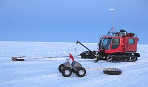 У полярных исследователей появился робот-помощник