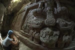 В Гватемале нашли уникальный фриз майя