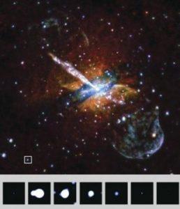 Это может быть черная дыра или нейтронная звезда