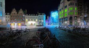 В Копенгагене используется энергосберегающее приглушенное освещение