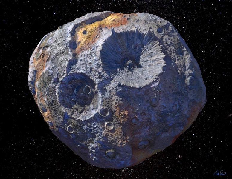 НАСА отправит миссию на астероид стоимостью в 10 000 квадриллионов долларов
