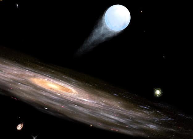 Найдена ближайшая к Солнцу гиперзвуковая звезда