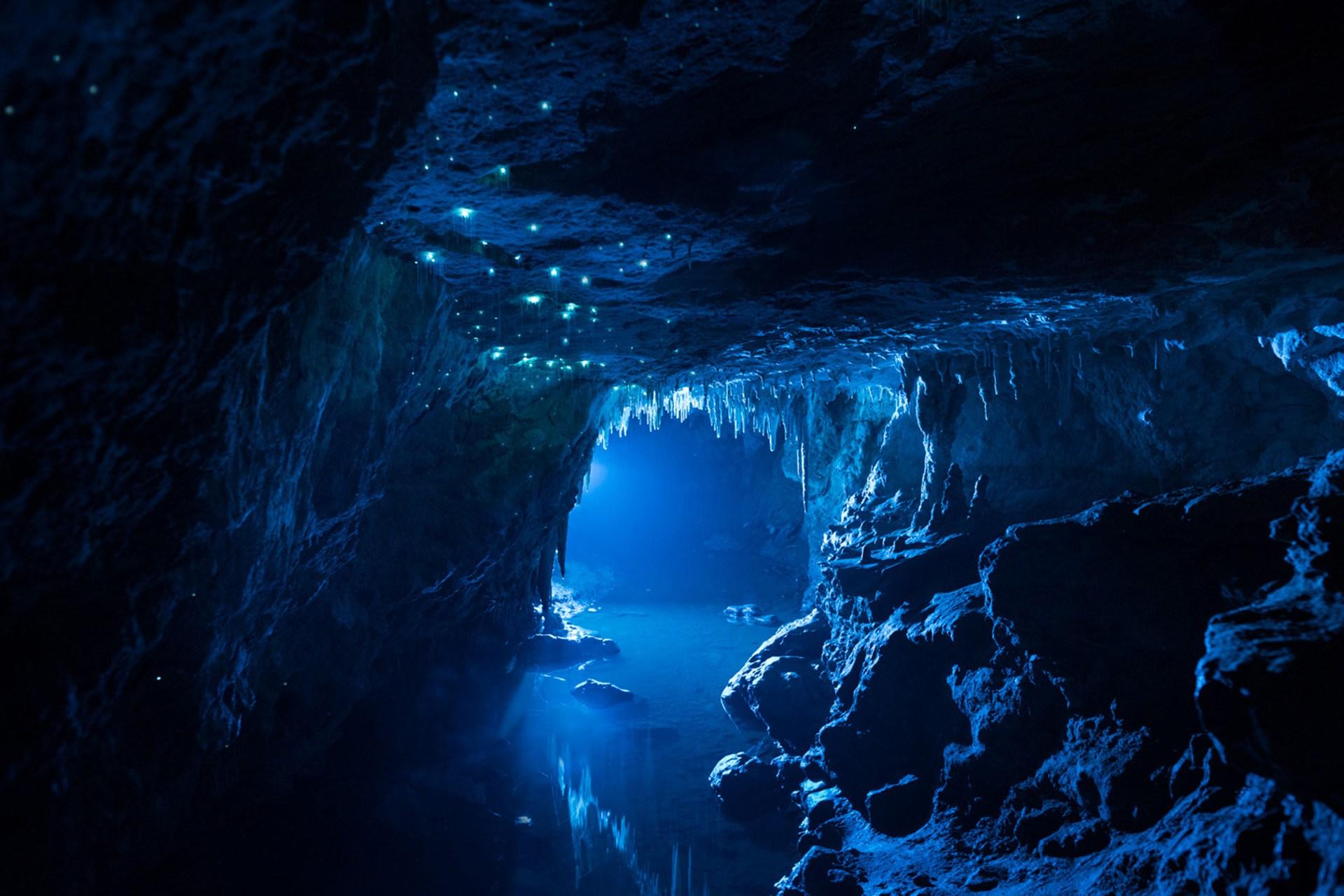 Пещера в Новой Зеландии