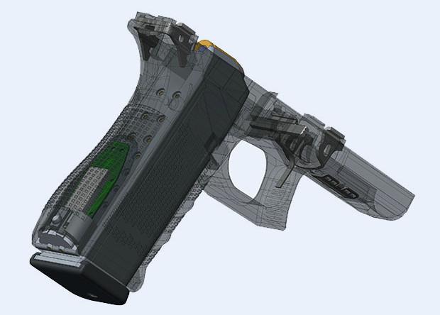 Оружие способно распознать своего владельца